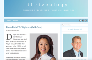 Ilana on Thriveology Screen Shot 2019-05-16